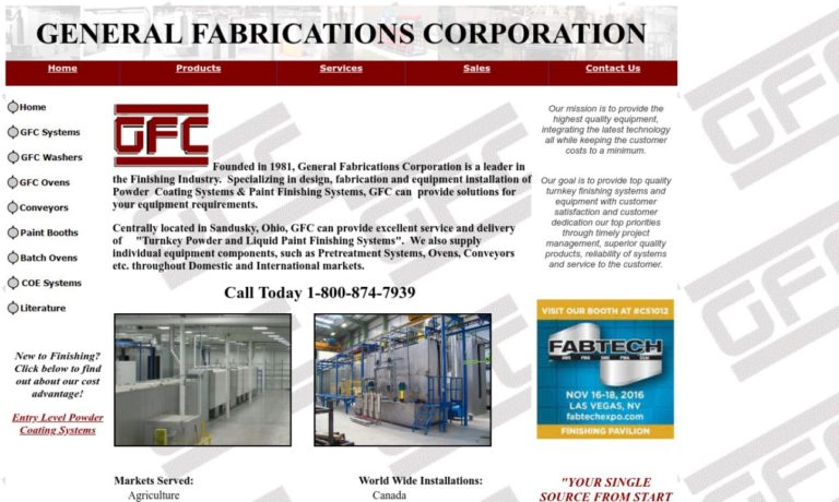 General Fabrications Corporation