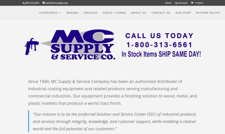 M C Supply and Service Co.