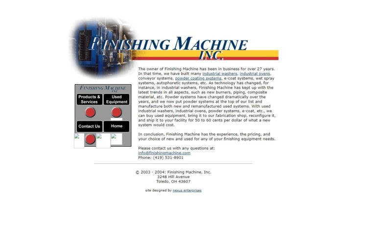 Finishing Machine, Inc.